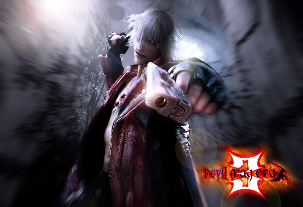 Devil May Cry Dante Wallpaper: Devil May Cry DMC Dante Art Dark Pov Weapons Gun Weapon
