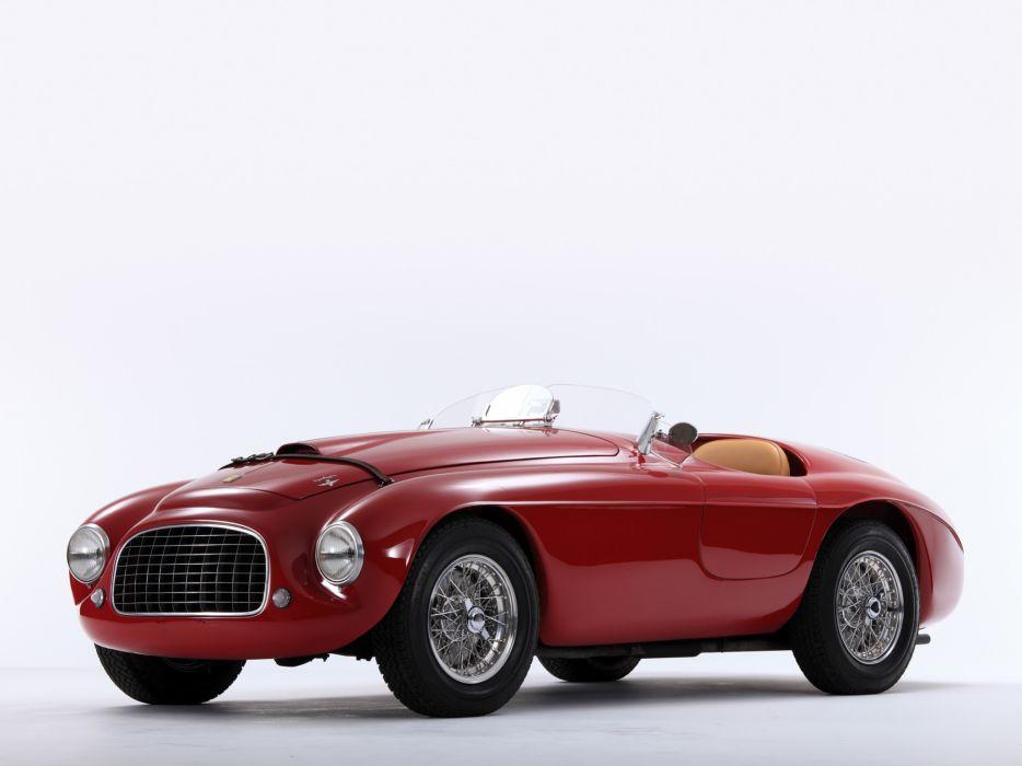 1948 Ferrari 166 MM Touring Barchetta supercar race racing retro  g wallpaper