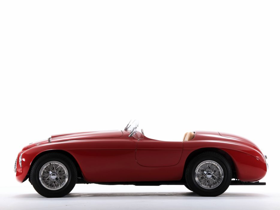 1948 Ferrari 166 MM Touring Barchetta supercar race racing retro wallpaper