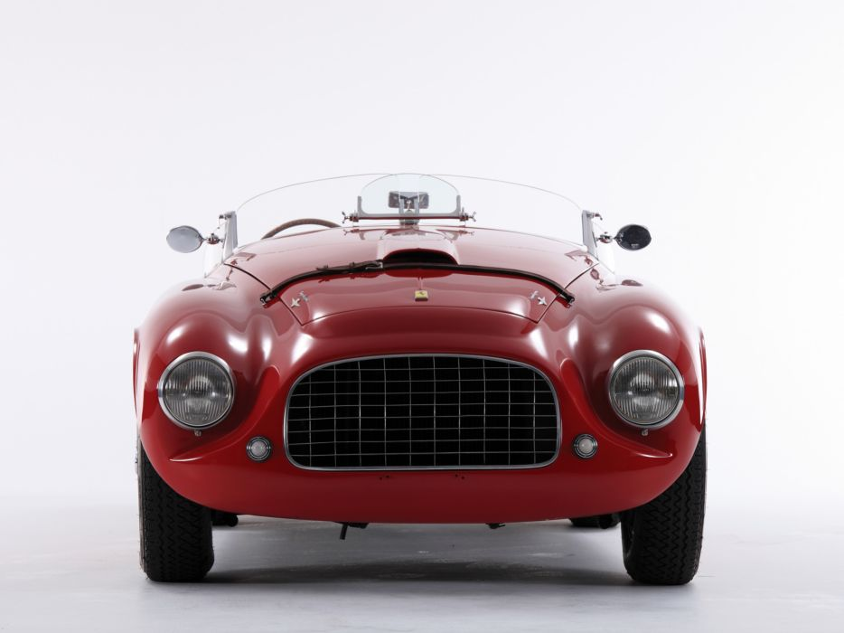 1948 Ferrari 166 MM Touring Barchetta supercar supercars race racing retro   g wallpaper