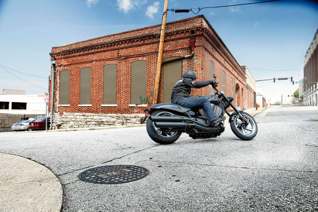 2014 Victory Hammer 8-Ball motorbike wallpaper