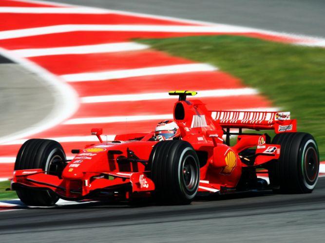 2007 Ferrari F2007 formula one formula-1 f-1 race racing ds wallpaper