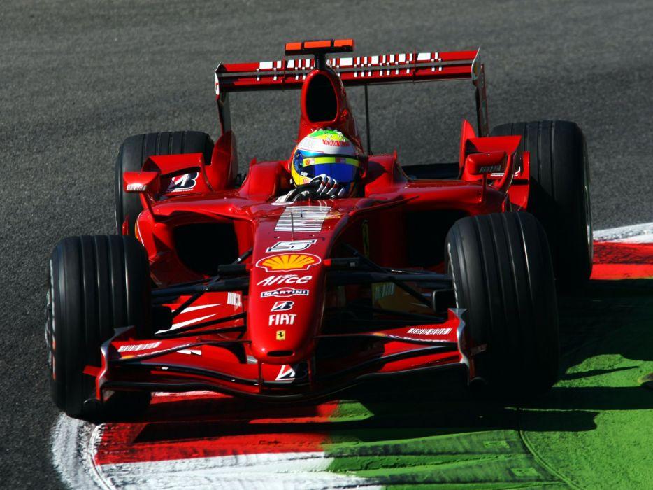 2007 Ferrari F2007 formula one formula-1 f-1 race racing  fd wallpaper