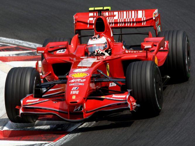 2007 Ferrari F2007 formula one formula-1 f-1 race racing f wallpaper