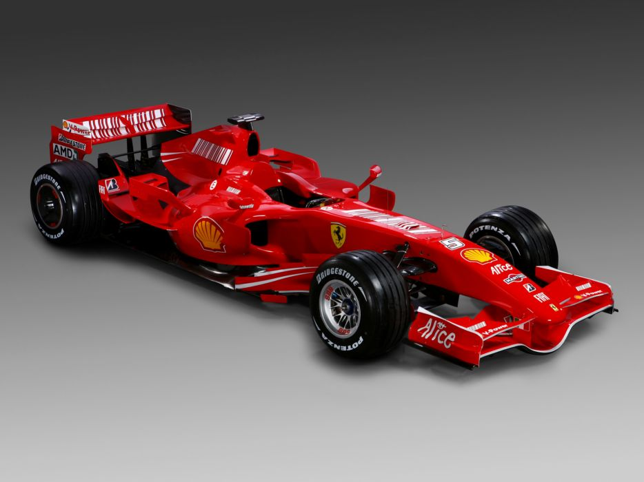 2007 Ferrari F2007 formula one formula-1 f-1 race racing wallpaper