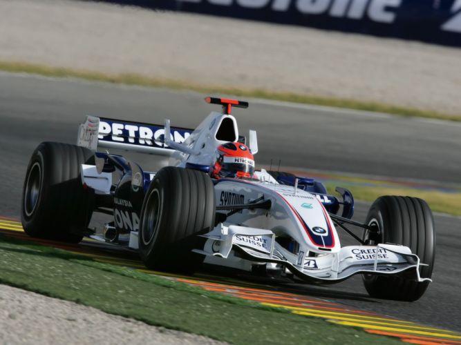 2007 BMW Sauber F1-07 formula one formula-1 f-1 race racing fw wallpaper