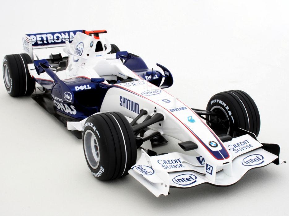 2007 BMW Sauber F1-07 formula one formula-1 f-1 race racing  f wallpaper