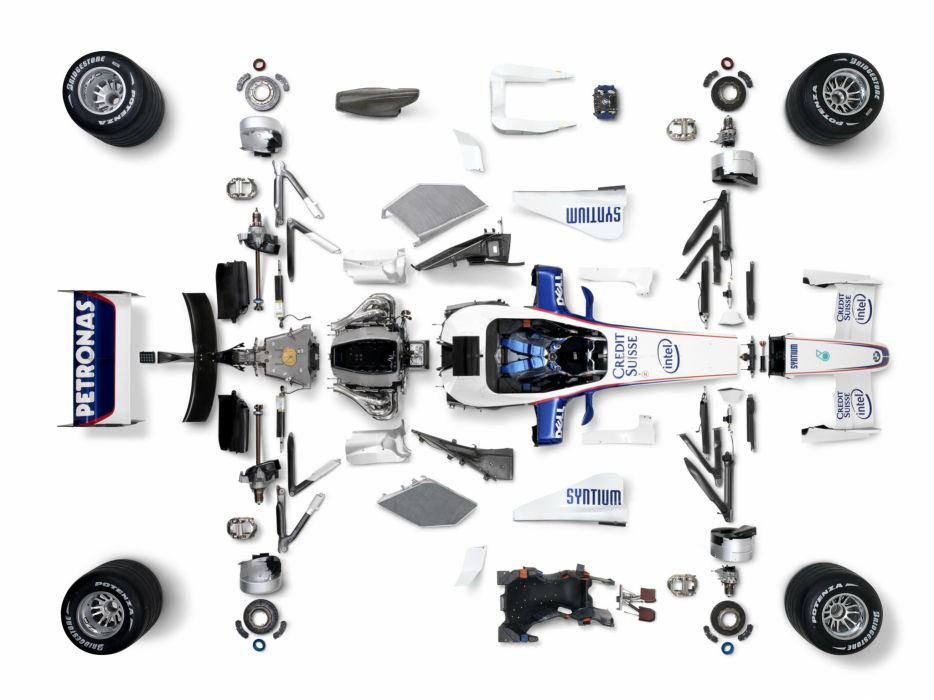 2007 BMW Sauber F1-07 formula one formula-1 f-1 race racing engine engines interior wallpaper