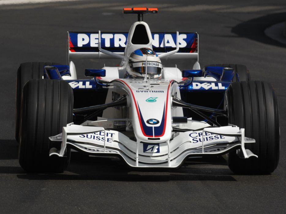 2007 BMW Sauber F1-07 formula one formula-1 f-1 race racing wallpaper