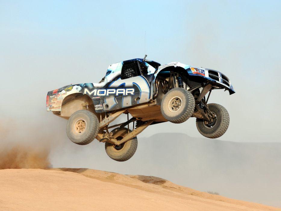 2007 Dodge Ram Mopar Baja 1000 Trophy Truck pickup race racing offroad 4x4 wallpaper