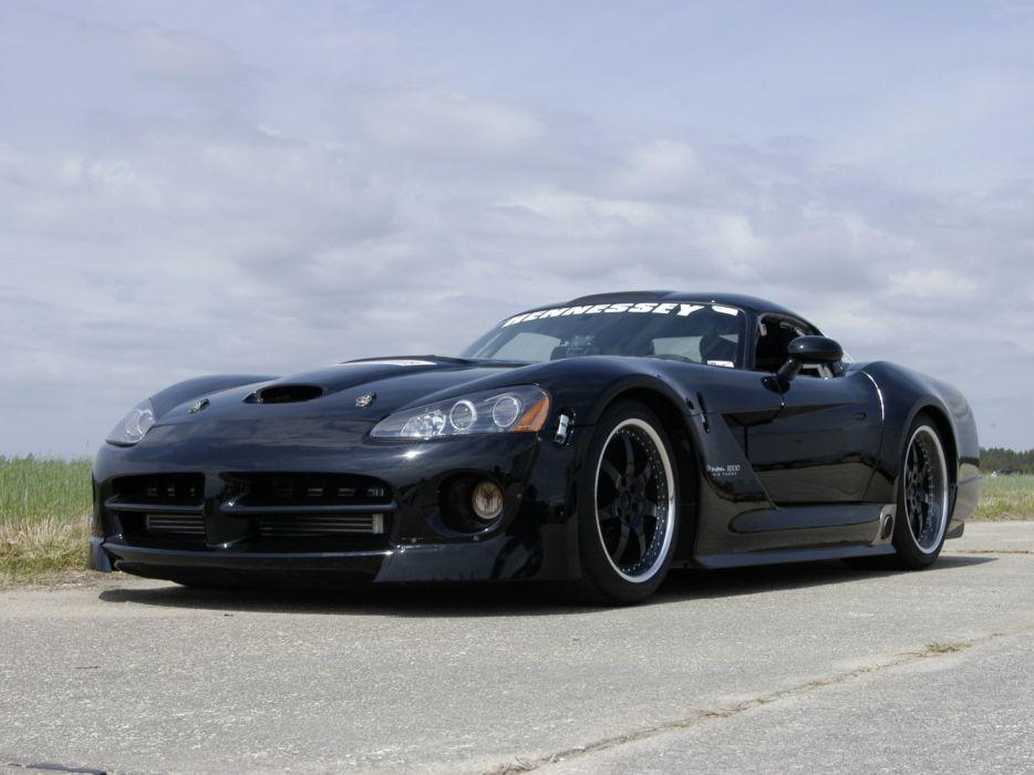 2007 Hennessey Venom 1000 Twin Turbo SRT DragCar supercar supercars wallpaper