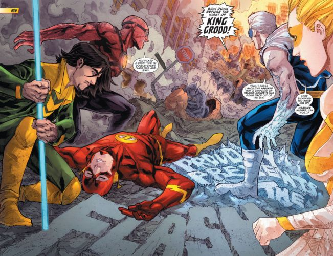 The Flash DC-comics d-c superhero wallpaper