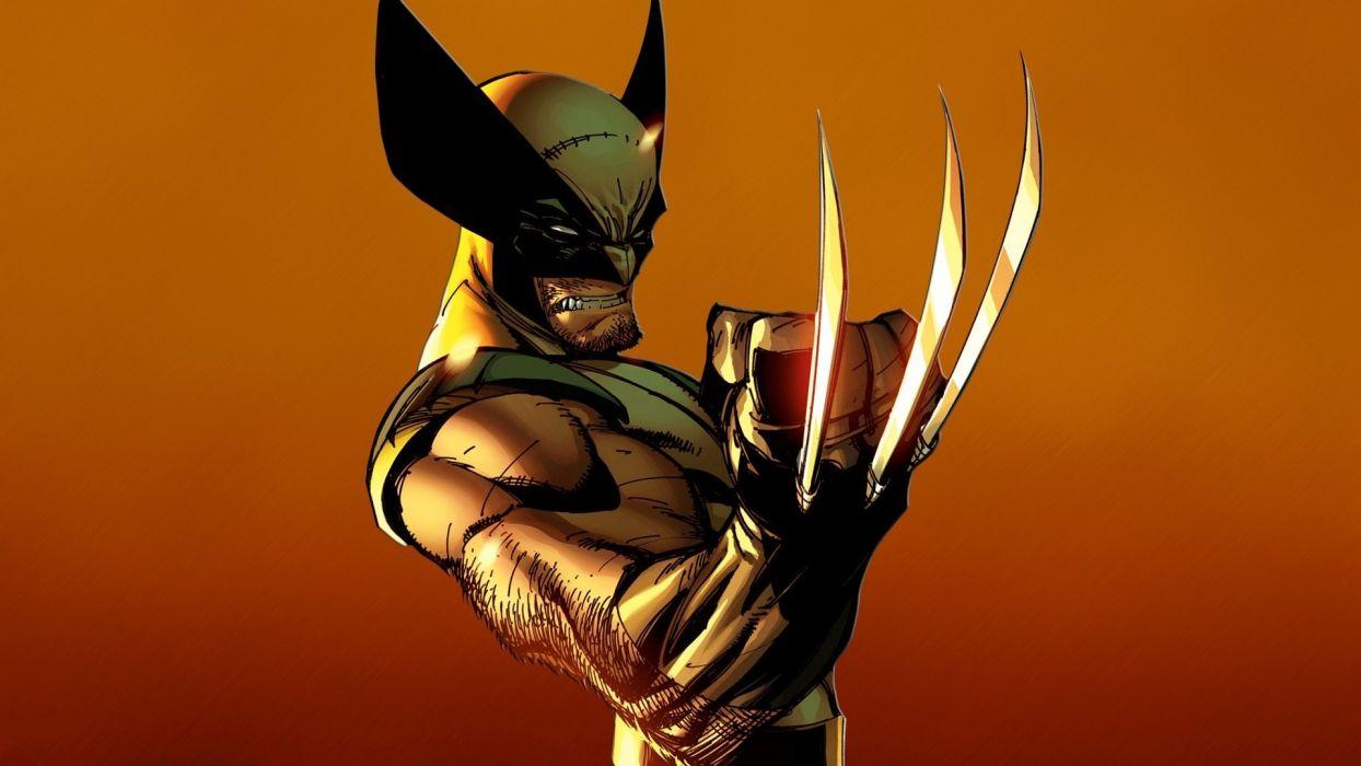 Wolverine Marvel superhero wallpaper