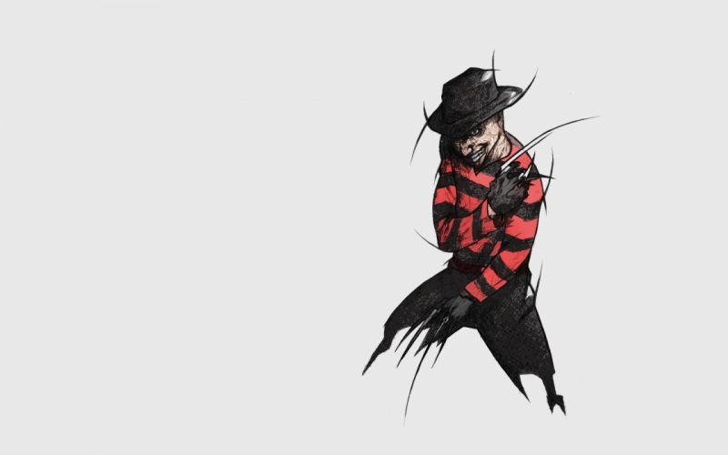 A Nightmare on Elm Street Hat Movies halloween dark horror monster wallpaper