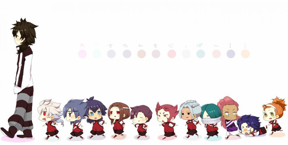 Inazuma Eleven GO chibi wallpaper