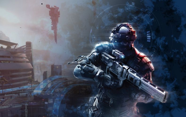 Killzone Warriors Rifles Armor Games warrior weapon gun armor sci-fi futuristic wallpaper