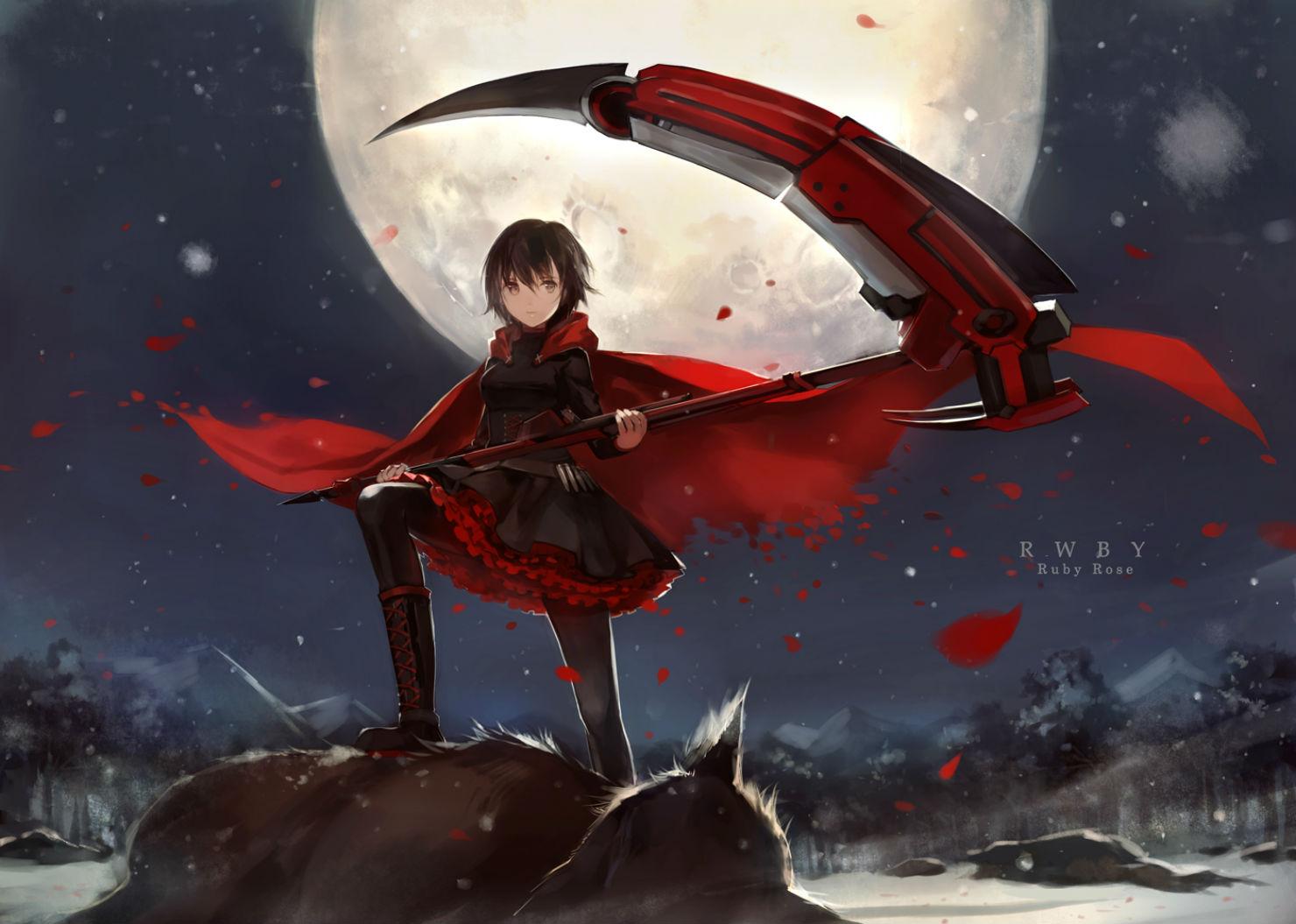 rwby anime scythe wallpaper - photo #5
