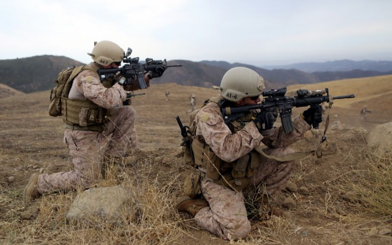 Soldiers United States Army military weapon weapons gun wallpaper