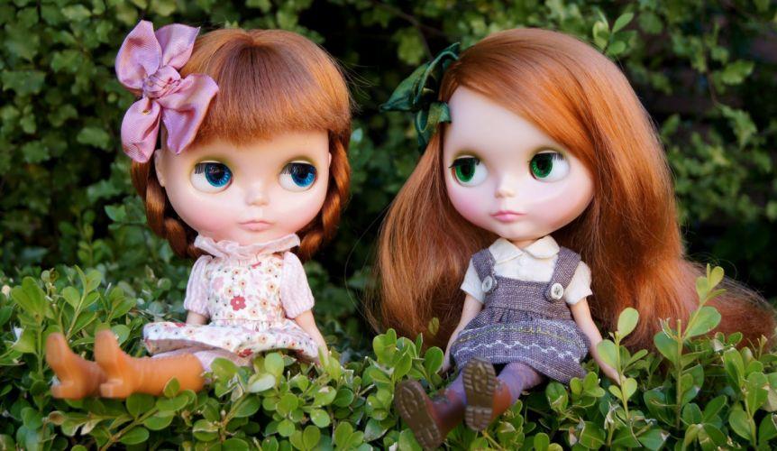 Toys Doll Little girls dolls toy redhead girl wallpaper