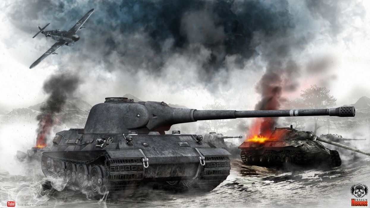 World of Tanks Tank Smoke Games battle military wallpaper