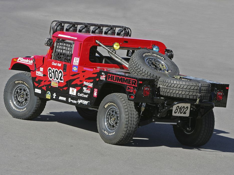 2006 Hummer H1 Alpha Rally Truck offroad 4x4 race racing vee wheel wheels   f wallpaper