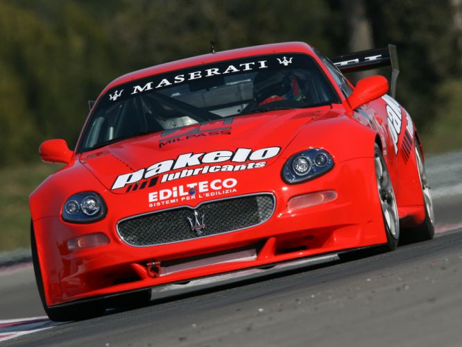 2006 Maserati GranSport GT3 race racing f wallpaper