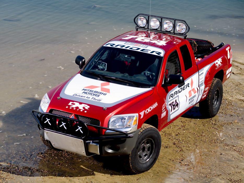 2006 Mitsubishi Raider Baja race racing truck pickup offroad    d wallpaper