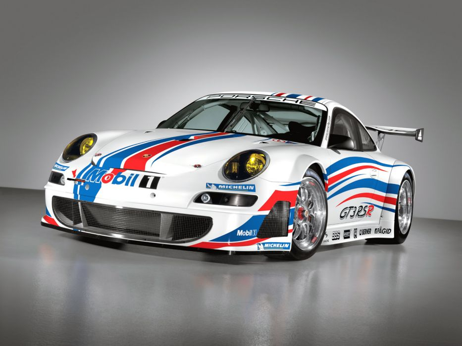 2006 Porsche 911 GT3 RSR 997 race racing supercar supercars     d wallpaper
