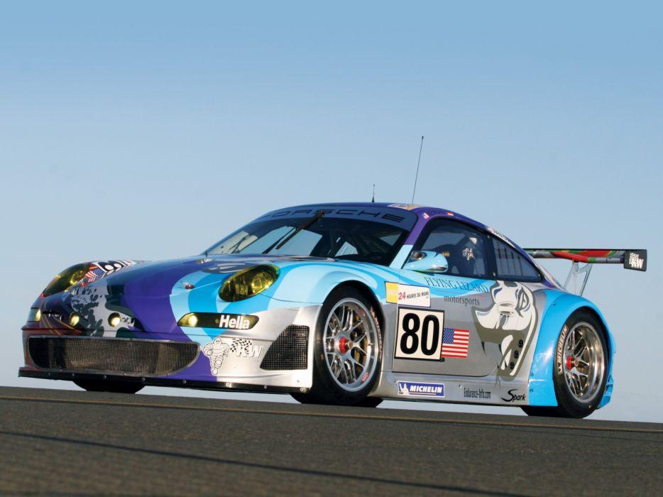 2006 Porsche 911 GT3 RSR 997 race racing supercar supercars   e wallpaper
