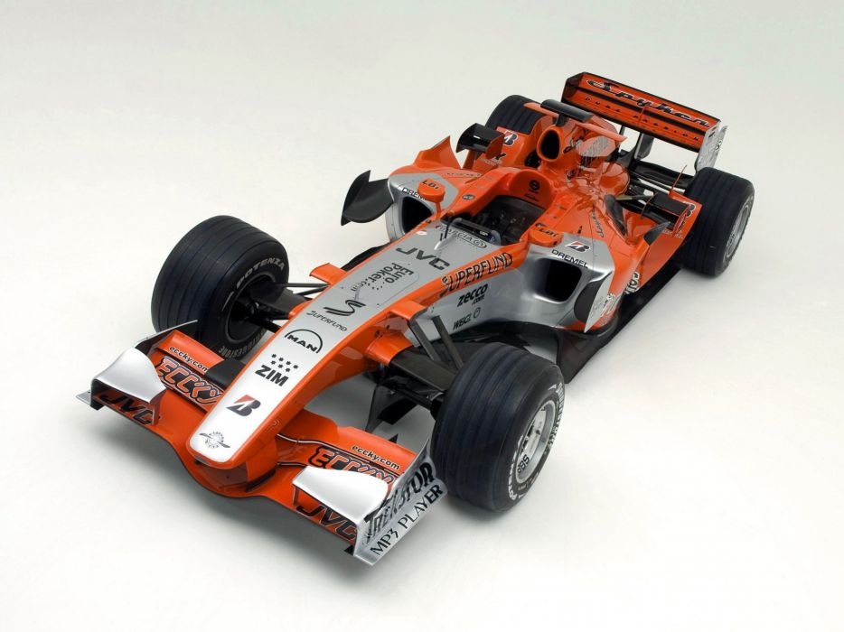 2006 Spyker MF1 formula one formula-1 f-1 race racing    f wallpaper