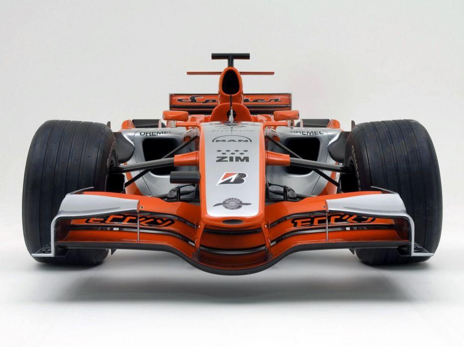 2006 Spyker MF1 formula one formula-1 f-1 race racing wheel wheels wallpaper