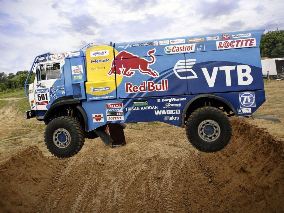 2007 Kamaz 4326-9 V-K dakar offroad 4x4 race racing truck     g wallpaper