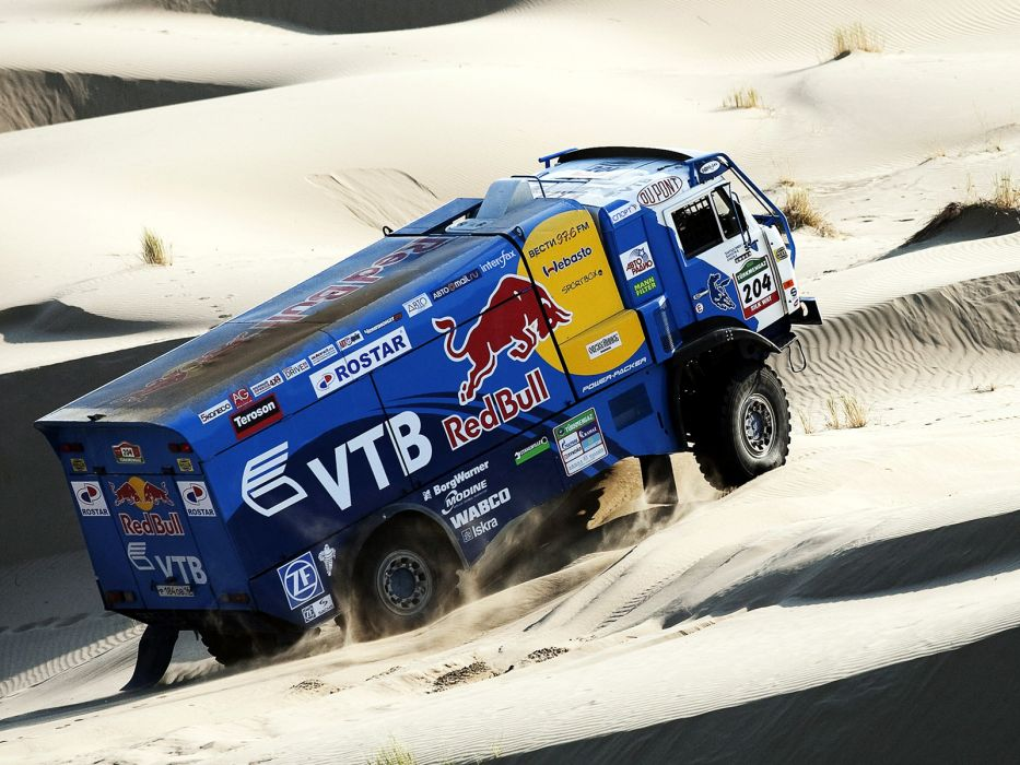 2007 Kamaz 4326-9 V-K dakar offroad 4x4 race racing truck   g wallpaper