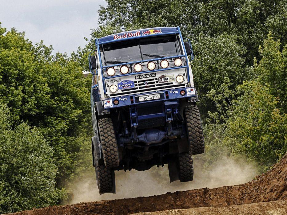 2007 Kamaz 4326-9 V-K dakar offroad 4x4 race racing truck  f wallpaper