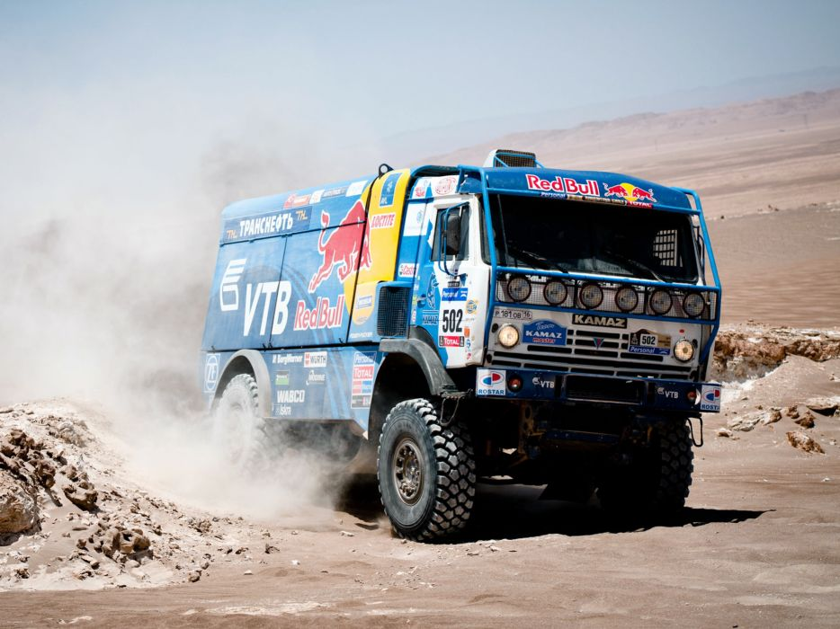 2007 Kamaz 4326-9 V-K dakar offroad 4x4 race racing truck  h wallpaper