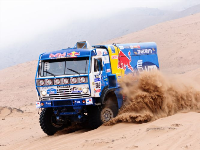 2007 Kamaz 4326-9 V-K dakar offroad 4x4 race racing truck wallpaper