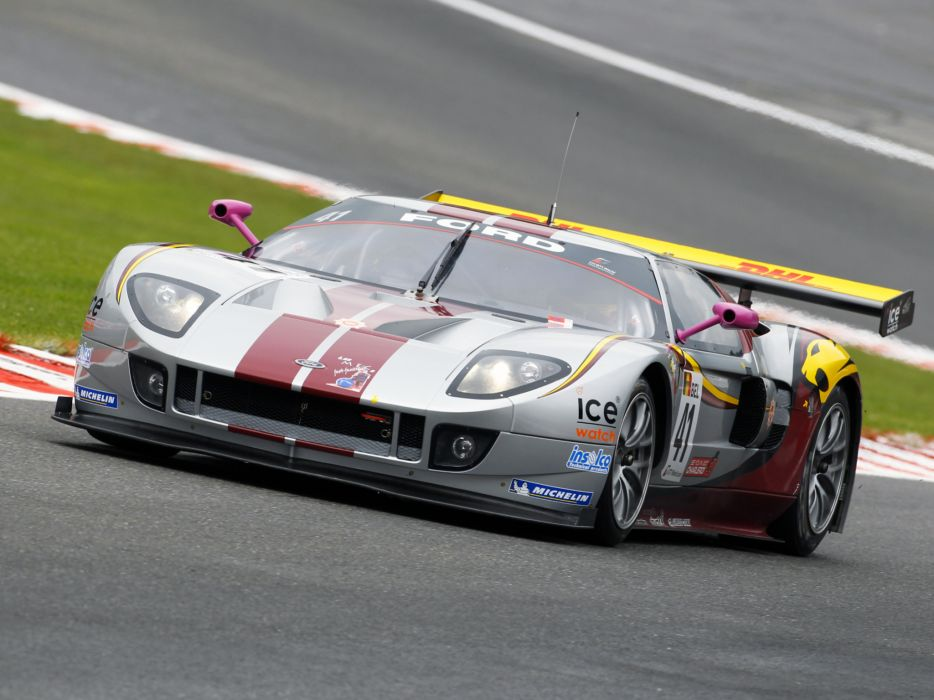 2007 Matech Racing Ford GT supercar supercars race racing ford-gt g-t   fd wallpaper