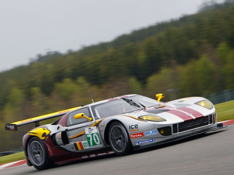 2007 Matech Racing Ford GT supercar supercars race racing ford-gt g-t   gq wallpaper