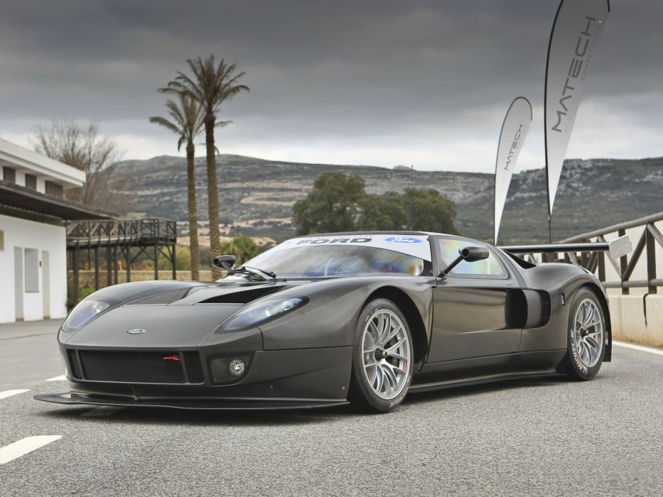 2007 Matech Racing Ford GT supercar supercars race racing ford-gt g-t  d wallpaper