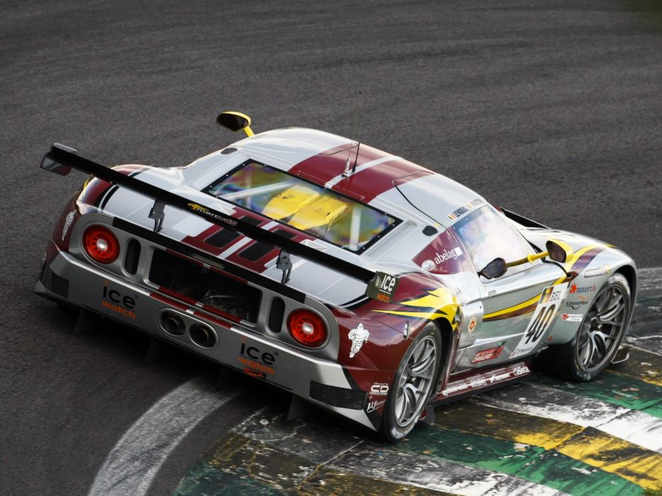 2007 Matech Racing Ford GT supercar supercars race racing ford-gt g-t  g wallpaper