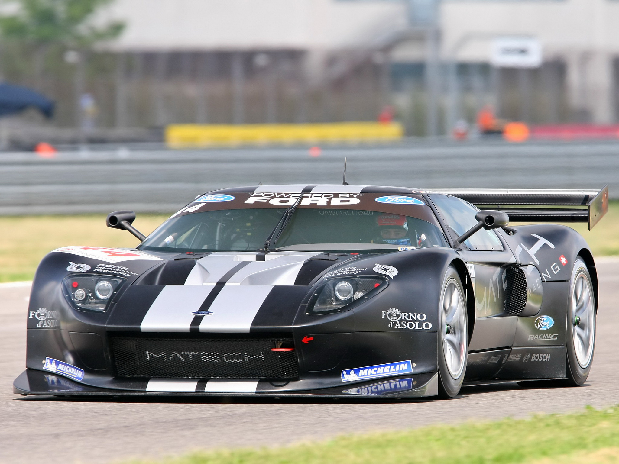 Matech Racing Ford Gt Supercar Supercars Race Racing Ford Gt