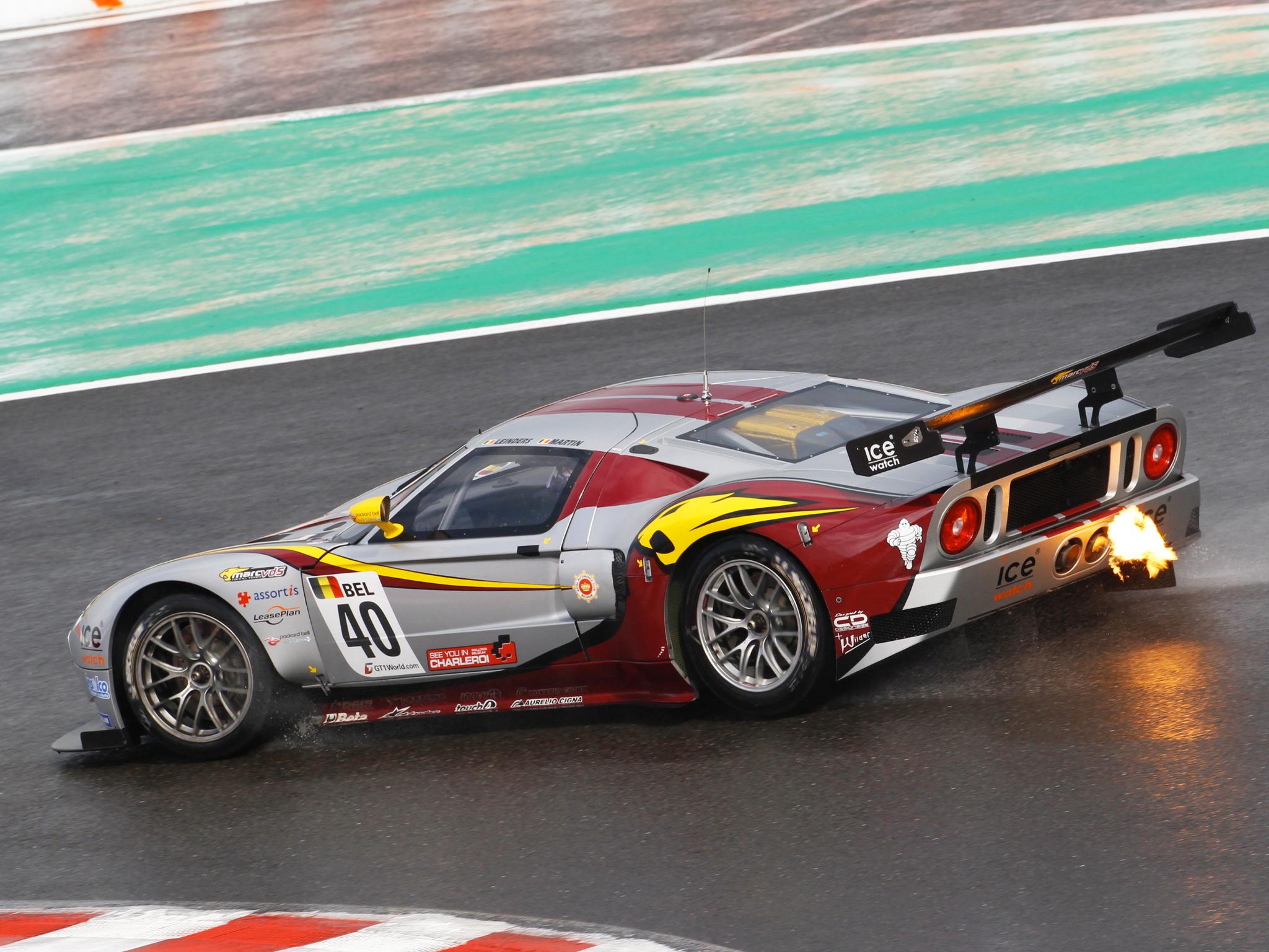 Super Car Racing >> 2007 Matech Racing Ford Gt Supercar Supercars Race Racing