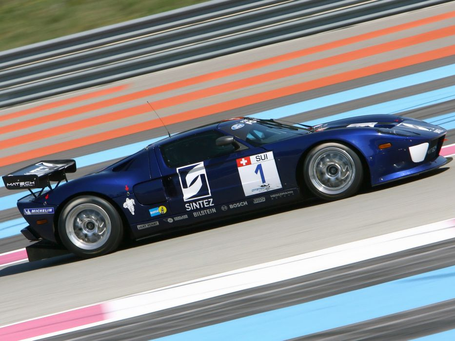 2007 Matech Racing Ford GT supercar supercars race racing ford-gt g-t wallpaper