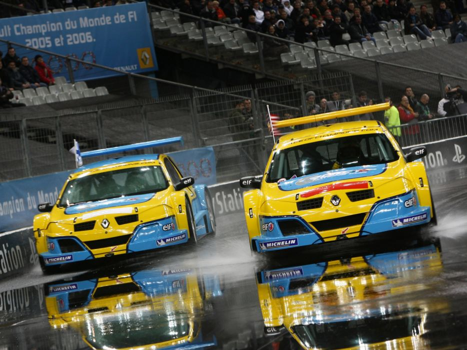 2007 Renault RS Megane Trophy race racing r-s wallpaper
