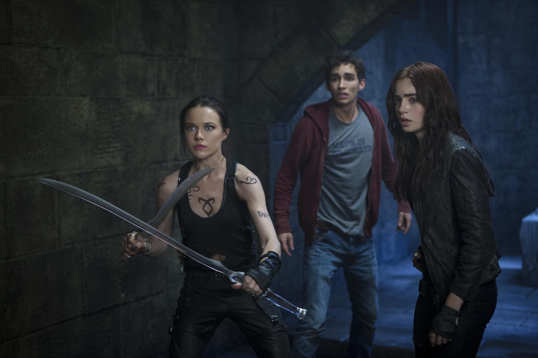 The Mortal Instruments City Of Bones 2013 action adventure ...