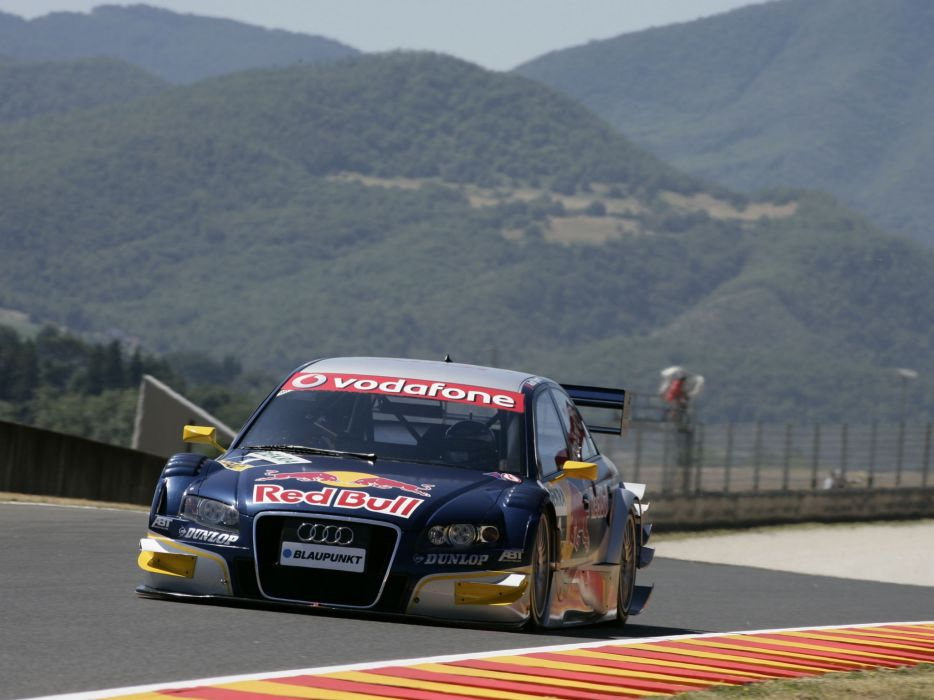 2005 Audi A4 DTM race racing sedan adac a-4   f wallpaper