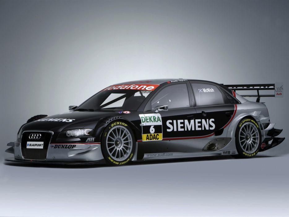 2005 Audi A4 DTM race racing sedan adac a-4   fd wallpaper
