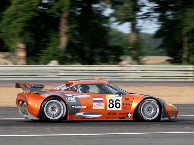 2005 Spyker C8 Spyder GT2R supercars supercar race racing c-8 g wallpaper