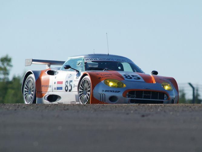 2005 Spyker C8 Spyder GT2R supercars supercar race racing c-8 gd wallpaper