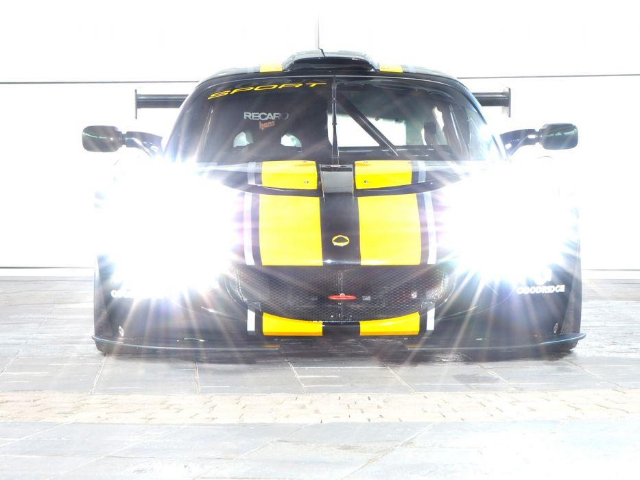 2006 Lotus Sport Exige GT3 supercar supercars race racing lights wallpaper